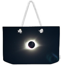 2017 Total Solar Eclipse Weekender Tote Bag