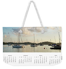 Weekender Tote Bag featuring the photograph 2017 Wall Calendar Journey by Ivy Ho