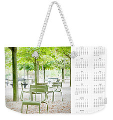 Weekender Tote Bag featuring the photograph 2017 Wall Calendar Paris by Ivy Ho