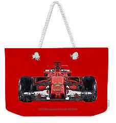 2017scuderia Ferrari Sf70h Weekender Tote Bag