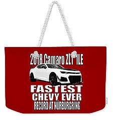 2018 Camaro Zl1 1le Weekender Tote Bag