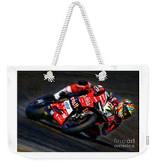 2018 World Superbike Chaz Davies Weekender Tote Bag