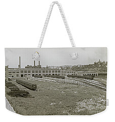 207th Street Railyards Weekender Tote Bag