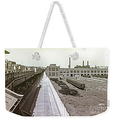 207th Street Subway Yards Weekender Tote Bag