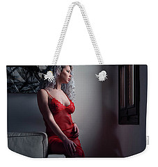Weekender Tote Bag featuring the photograph Tu M'as Promis by Traven Milovich