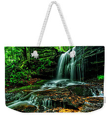 West Virginia Waterfall Weekender Tote Bag