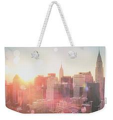 New York City Weekender Tote Bag by Vivienne Gucwa