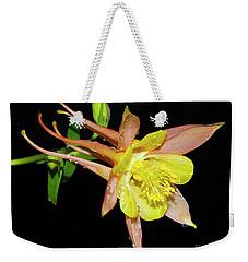 Spring Flower Weekender Tote Bag by Elvira Ladocki