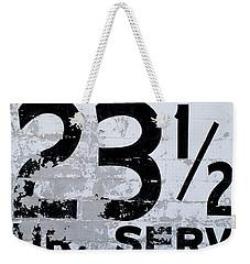 23 1/2 Hour Service Weekender Tote Bag