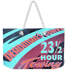 23 1/2 Hour Towing Weekender Tote Bag
