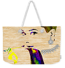 Audrey Hepburn Collection Weekender Tote Bag