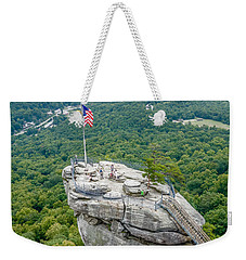 Lake Lure And Chimney Rock Landscapes Weekender Tote Bag