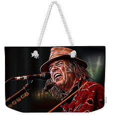 Neil Young Collection Weekender Tote Bag