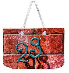 Weekender Tote Bag featuring the photograph 23 by Paul Wear
