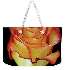 23rd Anniversary Rose Weekender Tote Bag by Elaine Malott