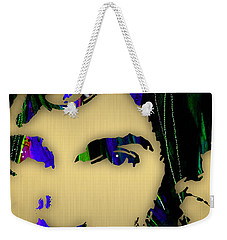 Bruce Springsteen Collection Weekender Tote Bag by Marvin Blaine