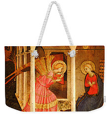 Fra Angelico  Weekender Tote Bag by Fra Angelico