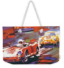 24 Hours Of Le Mans Weekender Tote Bag