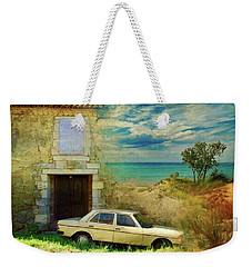 24 Hr Parking By The Beach Weekender Tote Bag
