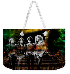 Led Zeppelin Collection Weekender Tote Bag by Marvin Blaine