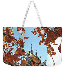 World Peace Activist Weekender Tote Bag by John Potts