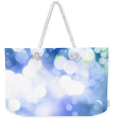 Abstract Circles 45 Weekender Tote Bag