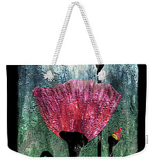 24a Abstract Floral Painting Digital Expressionism Weekender Tote Bag