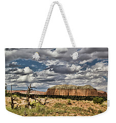 Capitol Reef National Park Catherdal Valley Weekender Tote Bag