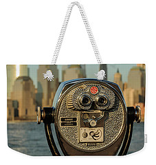 25 Cents A View Weekender Tote Bag