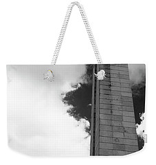25 De Abril Monument In Black And White Weekender Tote Bag