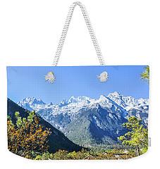 The Plateau Scenery Weekender Tote Bag