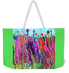 #2555  Happylittle Garden Weekender Tote Bag
