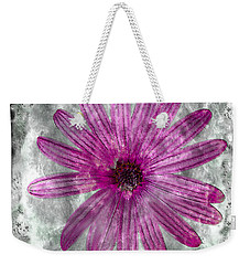 25a Abstract Floral Painting Digital Expressionism Weekender Tote Bag