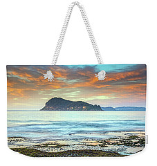 Sunrise Seascape With Clouds Weekender Tote Bag
