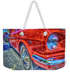 260 Red Weekender Tote Bag