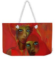 260 - Women In Red  Cothing A... Weekender Tote Bag