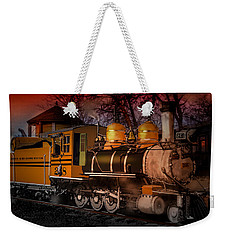 #268 Is Simmering Weekender Tote Bag by J Griff Griffin
