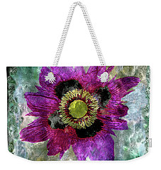 27a Abstract Floral Painting Digital Expressionism Weekender Tote Bag