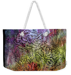 28a Abstract Floral Painting Digital Expressionism Weekender Tote Bag