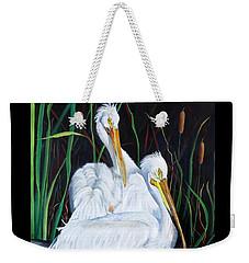 2's Company Weekender Tote Bag