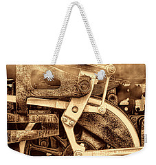 3 10 To Nowhere  Weekender Tote Bag by American West Legend By Olivier Le Queinec