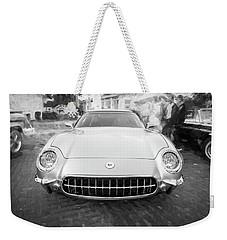 1954 Corvette Nomad Bw Weekender Tote Bag
