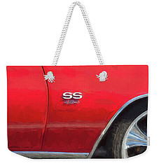 1970 Chevy Chevelle 454 Ss  Weekender Tote Bag by Rich Franco