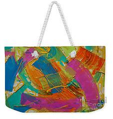 Silk Weekender Tote Bag