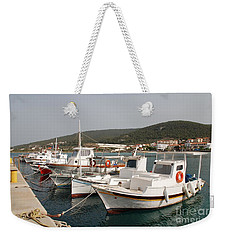 Agistri Island In Greece Weekender Tote Bag