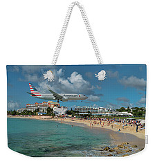 American Airlines At St. Maarten Weekender Tote Bag