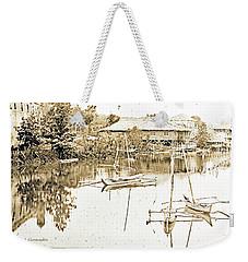 Arrow Head Lake, Philippine Village, 1904 Worlds Fair, Vintage P Weekender Tote Bag