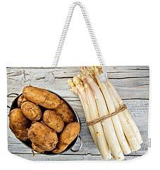 Asparagus Weekender Tote Bag by Nailia Schwarz