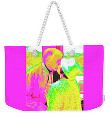 Becky's Kiss Weekender Tote Bag by Jesse Ciazza