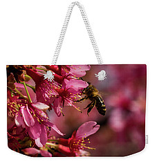 Bee Weekender Tote Bag by Jay Stockhaus